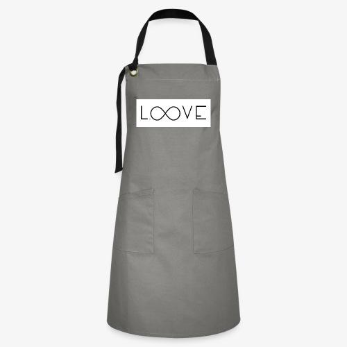 LOOVE Box Logo (SS18) - Grembiule artista