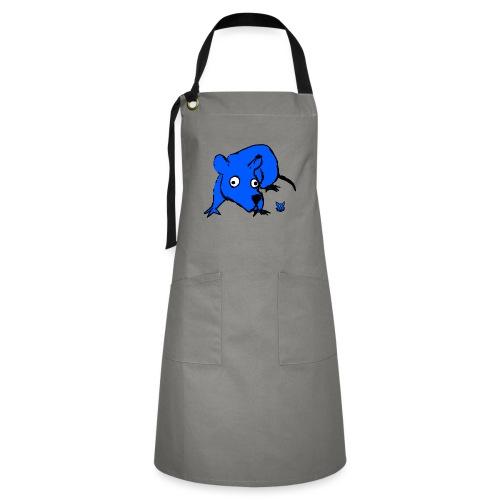 blue mouse - Grembiule artista