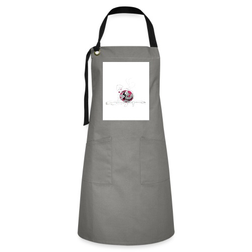 red lady - Artisan Apron