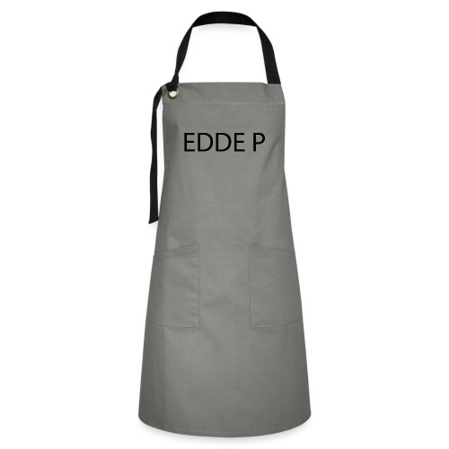 EDDE P - Kontrastförkläde