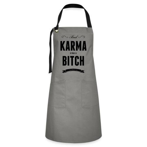 Bad Karma - Kontrastschürze