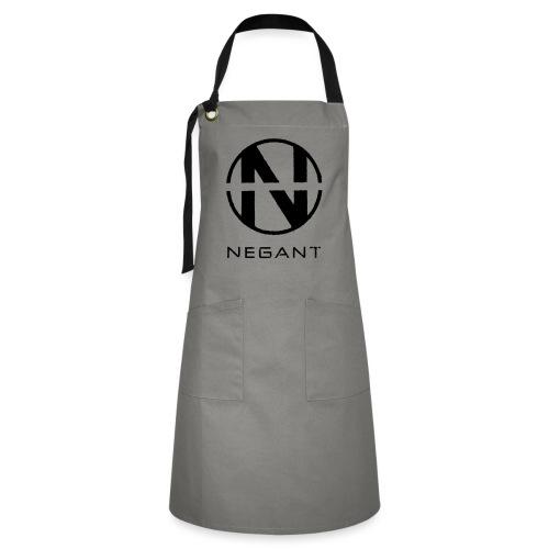 Black Negant logo - Kontrastforklæde