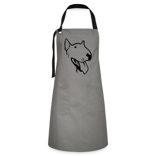 bull terrier2 - Artisan Apron