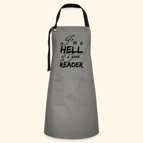 Hell of a good Reader - Artisan Apron