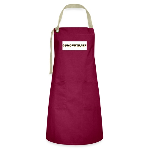 Concentrate on white - Artisan Apron