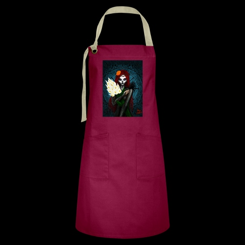 Death and lillies - Artisan Apron