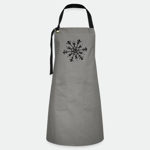 Cute snowflake - Artisan Apron