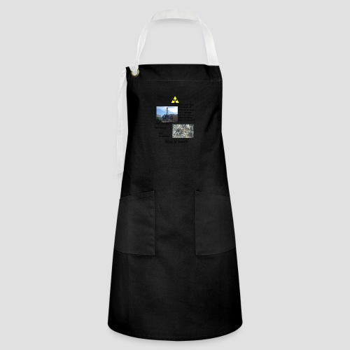 no nuclear button Who is next? - Artisan Apron
