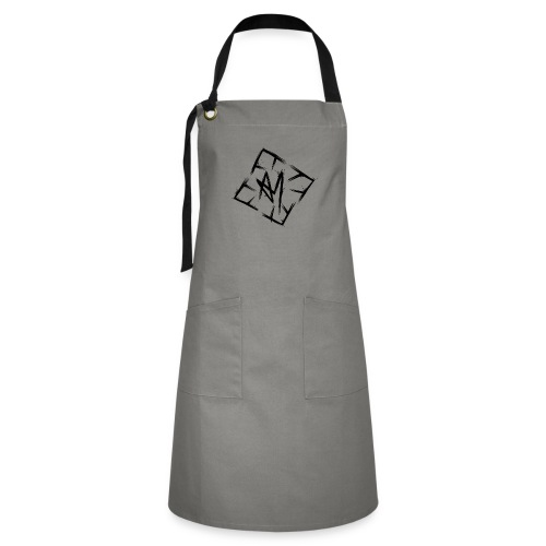 Across Yourself - Logo black transparent - Artisan Apron