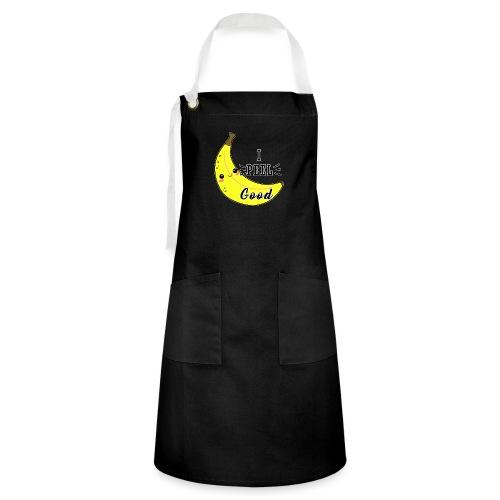 Banana divertente kawaii carina fumetto - Grembiule artista
