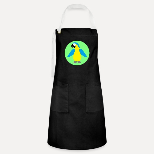 Yellow-breasted Macaw - Artisan Apron