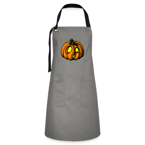 Pumpkin Halloween scribblesirii - Kontrastforklæde
