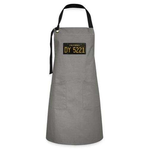 CALIFORNIA BLACK LICENCE PLATE - Artisan Apron