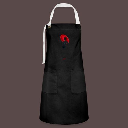 Pin up - Red Umbrella - Grembiule artista