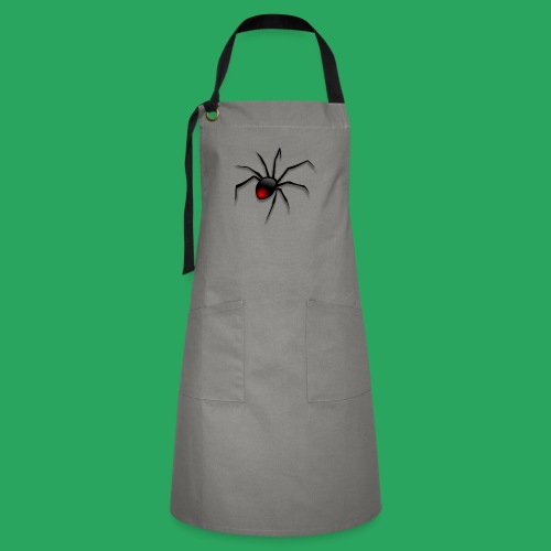 spider logo fantasy - Grembiule artista