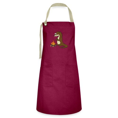 Song of the Paddle; Quentin campfire - Artisan Apron