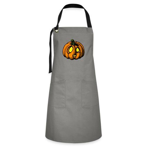 Pumpkin Halloween scribblesirii - Kontrastschürze