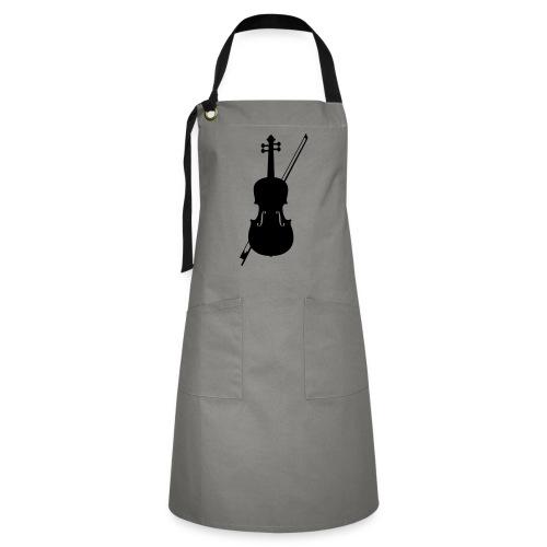 Violin - Contrasterende schort