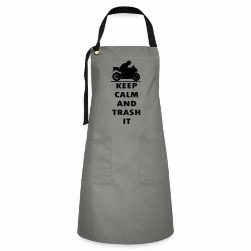 keep calm - Artisan Apron