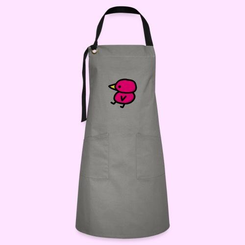 Pinkguin - Kontrastforklæde