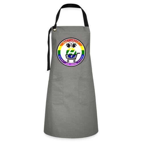 Hartzarett Pride - Kontrastschürze