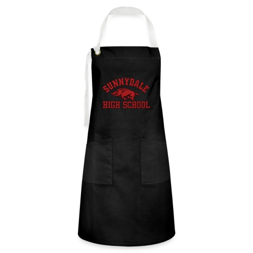 Sunnydale High School logo merch - Contrasterende schort