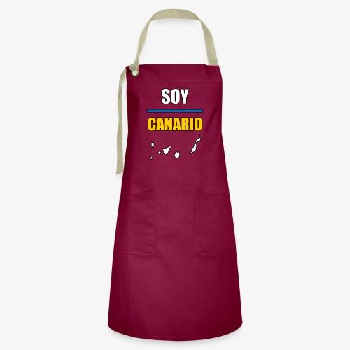 Soy Canario - Delantal Artesanal