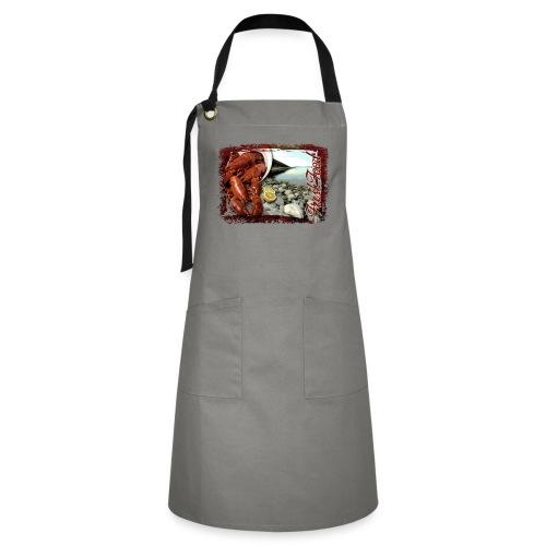 06-41 Fresh Food series. Textiles and Gifts - Kontrastivärinen esiliina