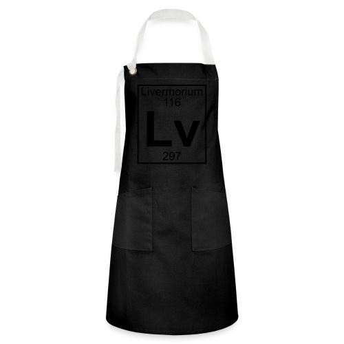 Livermorium (Lv) (element 116) - Artisan Apron