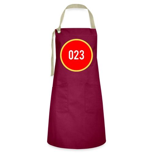 023 logo 2 - Contrasterende schort