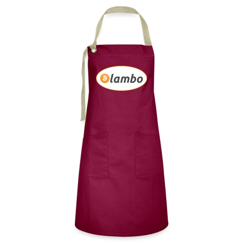 Lambo - option 1 - Artisan Apron