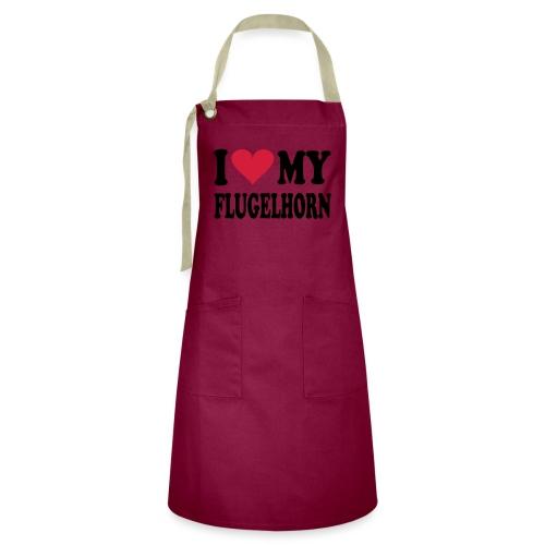 I LOVE MY FLUGELHORN - Konstrastforkle