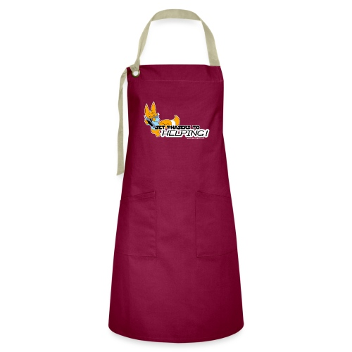 Set Phasers to Helping - Artisan Apron