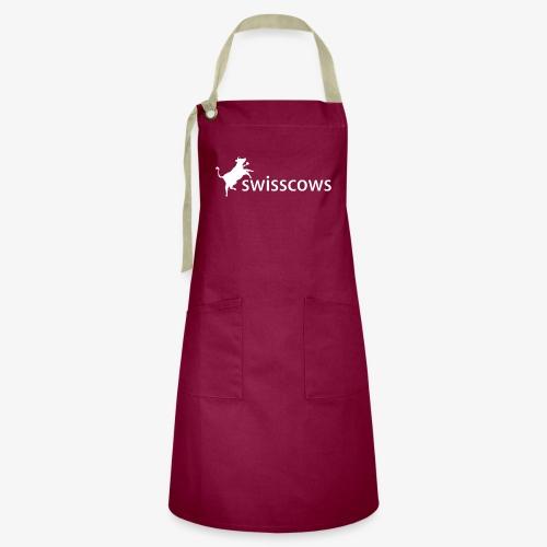 Swisscows - Logo - Kontrastschürze