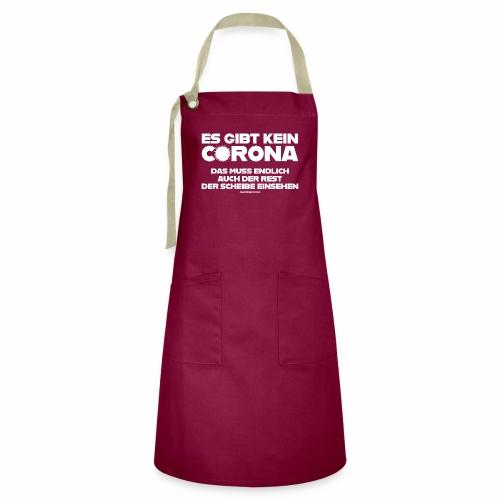 Kein Corona - Kontrastschürze