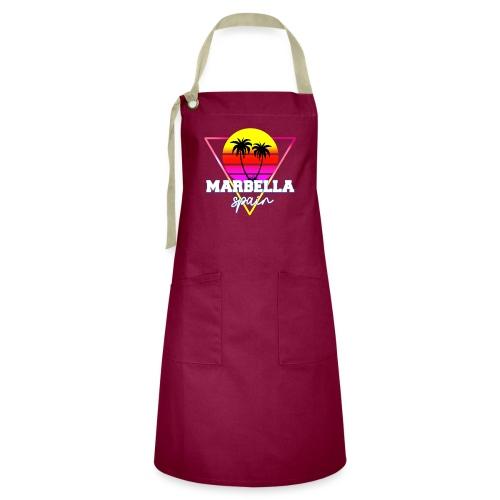 Marbella,Spain - Delantal Artesanal