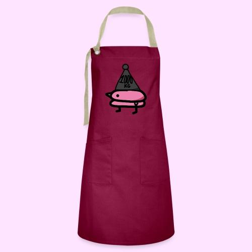 Squished Pinkguin - Kontrastforklæde