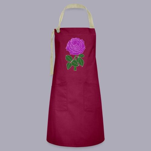 Landryn Design - Pink rose - Artisan Apron