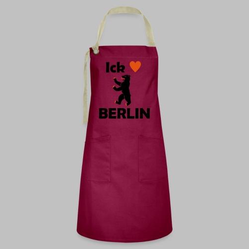 Ick liebe ❤ Berlin - Kontrastschürze