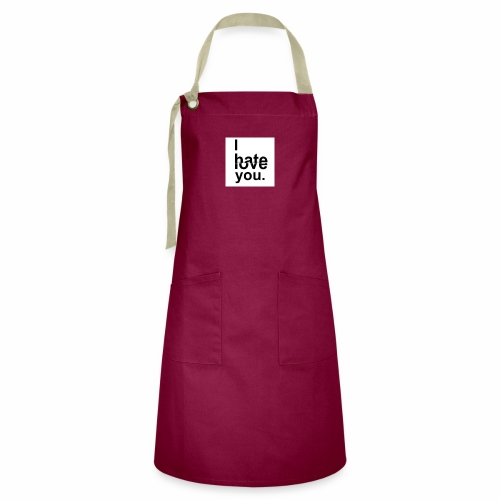love hate - Artisan Apron