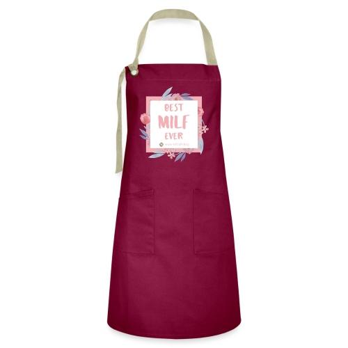 Best MILF ever - Milfcafé Shirt - Kontrastschürze