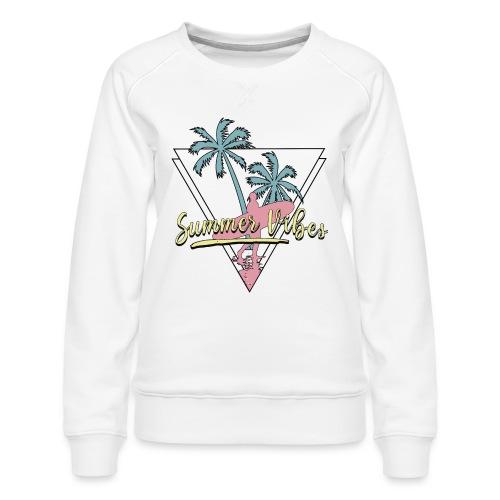 Summer vibes - Sudadera premium para mujer