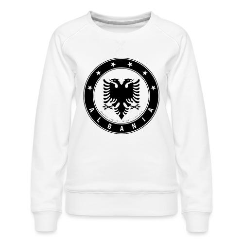 Patrioti Albania Black - Frauen Premium Pullover