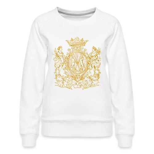 Peace and prosperity coat of arms - Sudadera premium para mujer