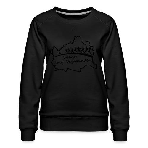 Laufvagabunden T Shirt - Frauen Premium Pullover