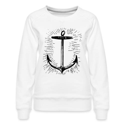 anchor - Women's Premium Sweatshirt