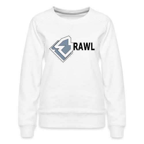 PANDA ONLY LOGO - Vrouwen premium sweater