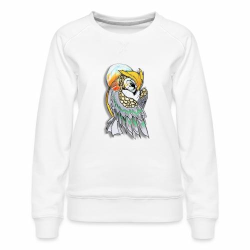 Cosmic owl - Sudadera premium para mujer
