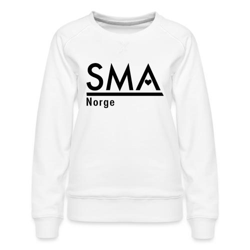 SMA Norge logo - Premium-genser for kvinner