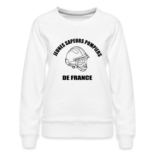 Jeunes Sapeurs Pompiers de France - Sweat ras-du-cou Premium Femme
